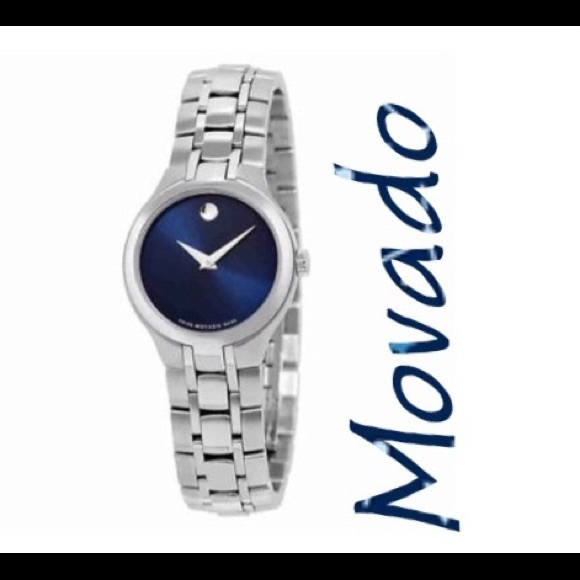 61f59181abf Movado Blue Dial Stainless Steel Watch 0606370. M 5c0975ec3e0caa0825e83726